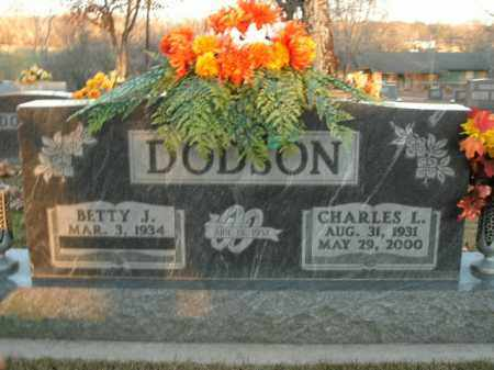 DODSON, CHARLES L. - Boone County, Arkansas | CHARLES L. DODSON - Arkansas Gravestone Photos