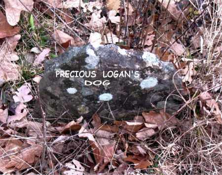 DOG, PRECIOUS LOGAN'S - Boone County, Arkansas   PRECIOUS LOGAN'S DOG - Arkansas Gravestone Photos