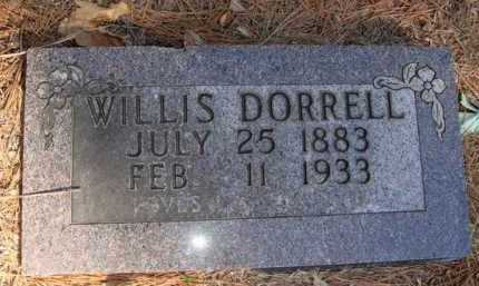 DORRELL, WILLIS - Boone County, Arkansas | WILLIS DORRELL - Arkansas Gravestone Photos