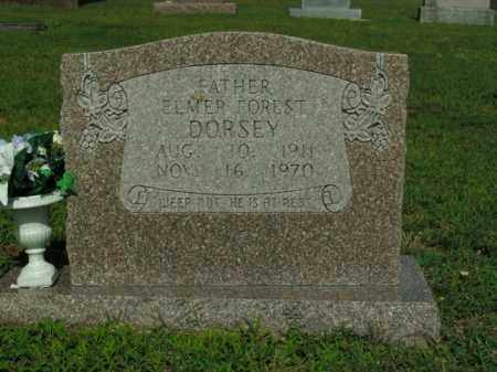 DORSEY, ELMER FOREST - Boone County, Arkansas | ELMER FOREST DORSEY - Arkansas Gravestone Photos