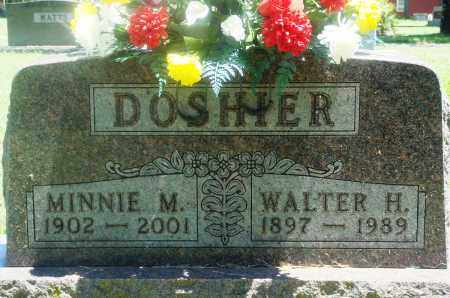 DOSHIER, MINNIE MARIE - Boone County, Arkansas | MINNIE MARIE DOSHIER - Arkansas Gravestone Photos