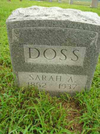 DOSS, SARAH A. - Boone County, Arkansas | SARAH A. DOSS - Arkansas Gravestone Photos