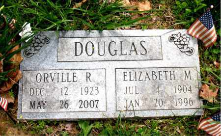 DOUGLAS, ORVILLE R. - Boone County, Arkansas | ORVILLE R. DOUGLAS - Arkansas Gravestone Photos
