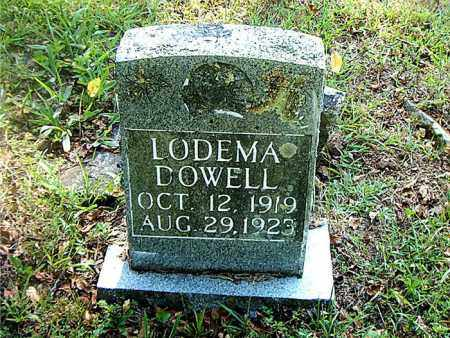 DOWELL, LODEMA - Boone County, Arkansas | LODEMA DOWELL - Arkansas Gravestone Photos