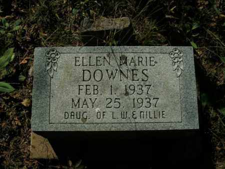 DOWNES, ELLEN MARIE - Boone County, Arkansas | ELLEN MARIE DOWNES - Arkansas Gravestone Photos