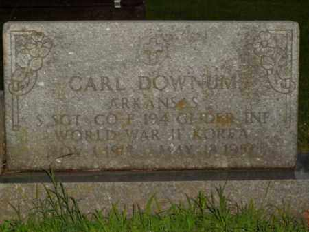 DOWNUM  (VETERAN 2 WARS), CARL - Boone County, Arkansas | CARL DOWNUM  (VETERAN 2 WARS) - Arkansas Gravestone Photos