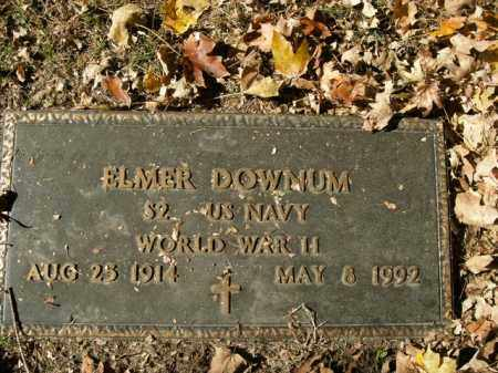 DOWNUM  (VETERAN WWII), ELMER - Boone County, Arkansas | ELMER DOWNUM  (VETERAN WWII) - Arkansas Gravestone Photos