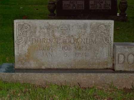 DOWNUM, DORIS L. - Boone County, Arkansas | DORIS L. DOWNUM - Arkansas Gravestone Photos