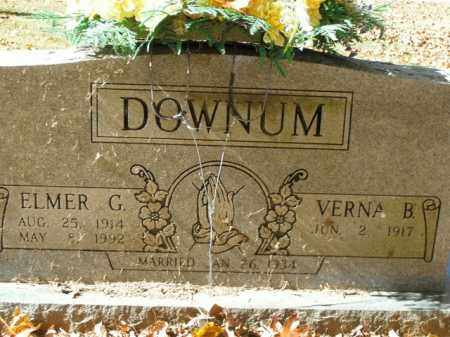 DOWNUM, ELMER GALLILEO - Boone County, Arkansas | ELMER GALLILEO DOWNUM - Arkansas Gravestone Photos