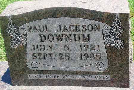 DOWNUM, PAUL JACKSON - Boone County, Arkansas | PAUL JACKSON DOWNUM - Arkansas Gravestone Photos