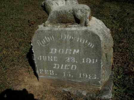 DOWNUM, RUBY - Boone County, Arkansas | RUBY DOWNUM - Arkansas Gravestone Photos