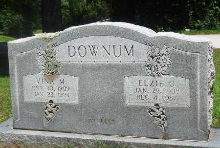 DOWNUM, ELZIE O - Boone County, Arkansas | ELZIE O DOWNUM - Arkansas Gravestone Photos
