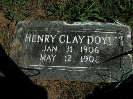 DOYLE, HENRY CLAY - Boone County, Arkansas | HENRY CLAY DOYLE - Arkansas Gravestone Photos