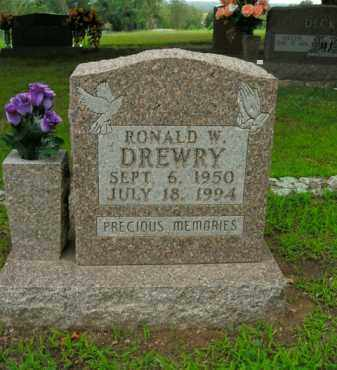 DREWRY, RONALD W. - Boone County, Arkansas | RONALD W. DREWRY - Arkansas Gravestone Photos