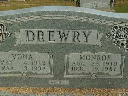 DREWRY, VONA - Boone County, Arkansas | VONA DREWRY - Arkansas Gravestone Photos