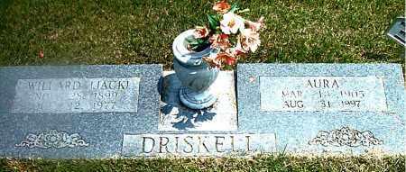 DRISKELL, WILLARD P. (JACK) - Boone County, Arkansas | WILLARD P. (JACK) DRISKELL - Arkansas Gravestone Photos