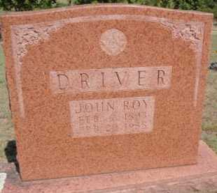 DRIVER, JOHN ROY - Boone County, Arkansas | JOHN ROY DRIVER - Arkansas Gravestone Photos