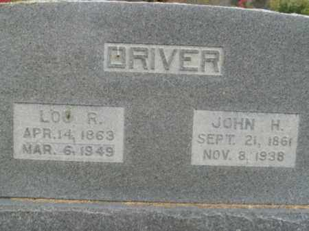DRIVER, LOU R. - Boone County, Arkansas | LOU R. DRIVER - Arkansas Gravestone Photos