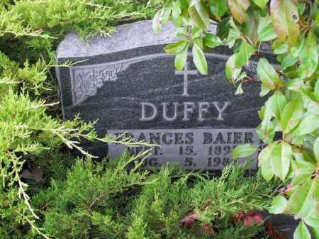 DUFFY, FRANCES BAIER - Boone County, Arkansas | FRANCES BAIER DUFFY - Arkansas Gravestone Photos