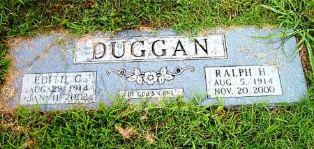 DUGGAN, EDITH  G. - Boone County, Arkansas | EDITH  G. DUGGAN - Arkansas Gravestone Photos