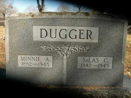 DUGGER, MINNIE A. - Boone County, Arkansas | MINNIE A. DUGGER - Arkansas Gravestone Photos