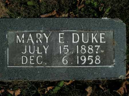 DUKE, MARY E. - Boone County, Arkansas | MARY E. DUKE - Arkansas Gravestone Photos