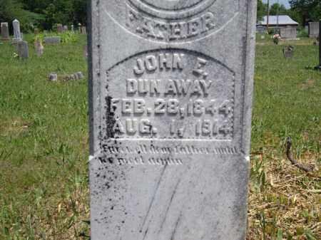 DUNAWAY, JOHN E. - Boone County, Arkansas | JOHN E. DUNAWAY - Arkansas Gravestone Photos