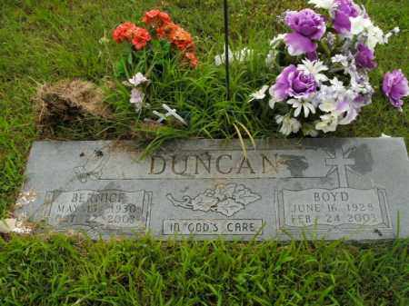 DUNCAN, BERNICE - Boone County, Arkansas | BERNICE DUNCAN - Arkansas Gravestone Photos