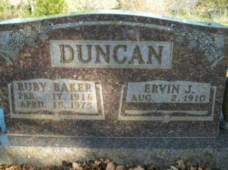BAKER DUNCAN, RUBY - Boone County, Arkansas | RUBY BAKER DUNCAN - Arkansas Gravestone Photos
