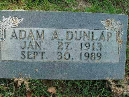 DUNLAP, ADAM A. - Boone County, Arkansas | ADAM A. DUNLAP - Arkansas Gravestone Photos