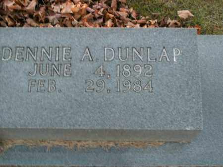 DUNLAP, DENNIE A. - Boone County, Arkansas | DENNIE A. DUNLAP - Arkansas Gravestone Photos