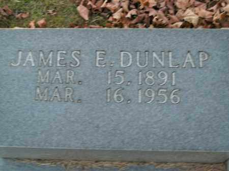 DUNLAP, JAMES E. - Boone County, Arkansas | JAMES E. DUNLAP - Arkansas Gravestone Photos