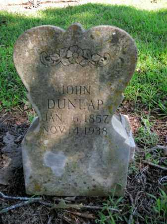DUNLAP, JOHN - Boone County, Arkansas | JOHN DUNLAP - Arkansas Gravestone Photos