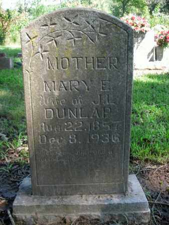 DUNLAP, MARY E. - Boone County, Arkansas | MARY E. DUNLAP - Arkansas Gravestone Photos