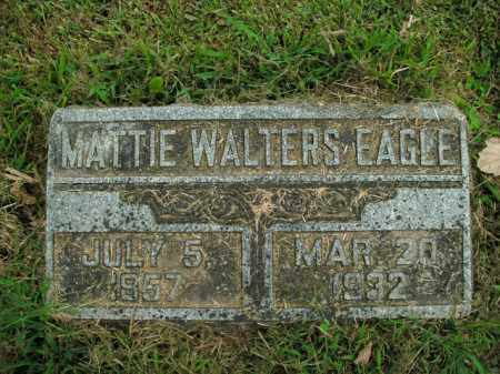 WALTERS EAGLE, MATTIE - Boone County, Arkansas | MATTIE WALTERS EAGLE - Arkansas Gravestone Photos