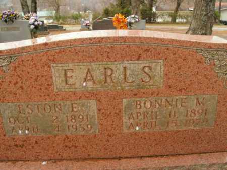 EARLS, ESTON E. - Boone County, Arkansas | ESTON E. EARLS - Arkansas Gravestone Photos