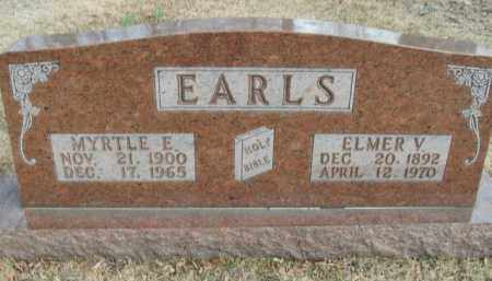 EARLS, MYRTLE E. - Boone County, Arkansas | MYRTLE E. EARLS - Arkansas Gravestone Photos