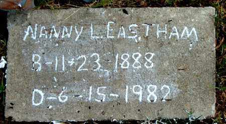 EASTHAM, NANNY  L. - Boone County, Arkansas | NANNY  L. EASTHAM - Arkansas Gravestone Photos