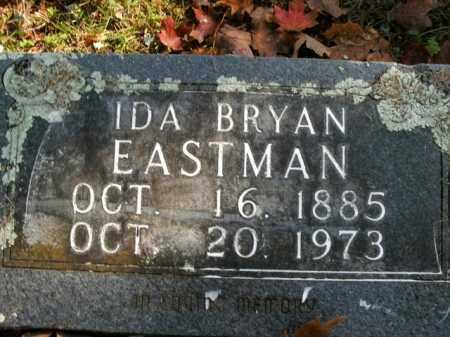 BRYAN EASTMAN, IDA - Boone County, Arkansas | IDA BRYAN EASTMAN - Arkansas Gravestone Photos
