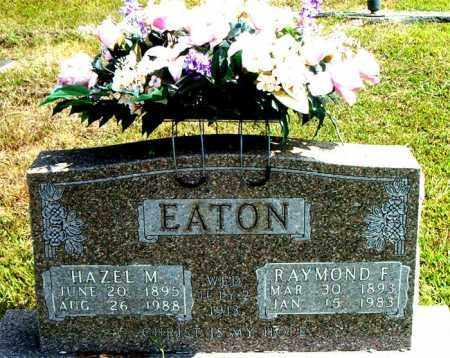EATON, RAYMOND  F. - Boone County, Arkansas | RAYMOND  F. EATON - Arkansas Gravestone Photos