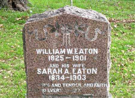 EATON, WILLIAM  W. - Boone County, Arkansas | WILLIAM  W. EATON - Arkansas Gravestone Photos