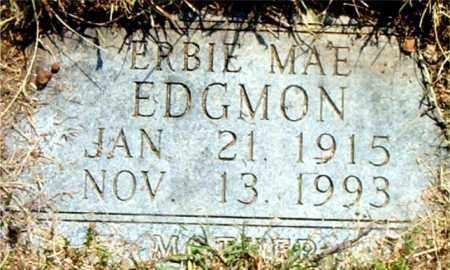 EDGMON, ERBIE MAE - Boone County, Arkansas | ERBIE MAE EDGMON - Arkansas Gravestone Photos