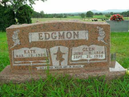 EDGMON, GLEN - Boone County, Arkansas | GLEN EDGMON - Arkansas Gravestone Photos