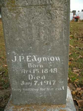 EDGMON, J.P. - Boone County, Arkansas | J.P. EDGMON - Arkansas Gravestone Photos