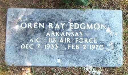 EDGMON  (VETERAN), OREN RAY - Boone County, Arkansas | OREN RAY EDGMON  (VETERAN) - Arkansas Gravestone Photos