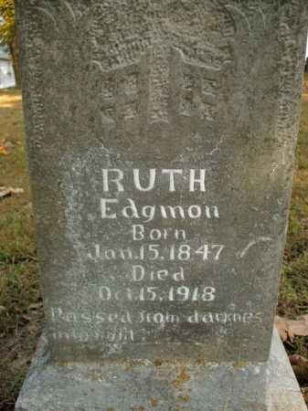 EDGMON, RUTH - Boone County, Arkansas | RUTH EDGMON - Arkansas Gravestone Photos