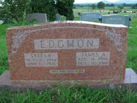 EDGMON, STELLA - Boone County, Arkansas | STELLA EDGMON - Arkansas Gravestone Photos