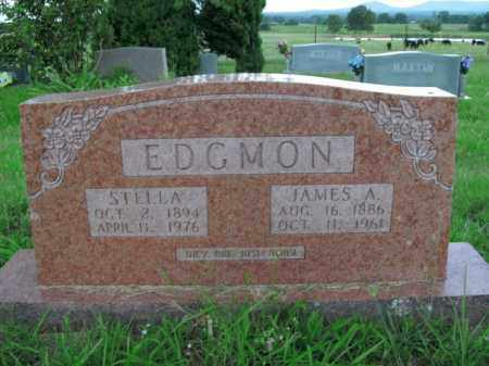EDGMON, STELLA - Boone County, Arkansas | STELLA EDGMON - Arkansas Gravestone Photos