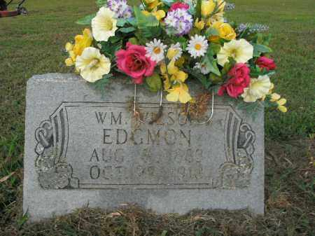 EDGMON, WILLIAM WILSON - Boone County, Arkansas | WILLIAM WILSON EDGMON - Arkansas Gravestone Photos