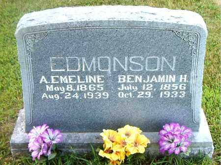 EDMONSON, BENJAMIN HARVEY - Boone County, Arkansas | BENJAMIN HARVEY EDMONSON - Arkansas Gravestone Photos